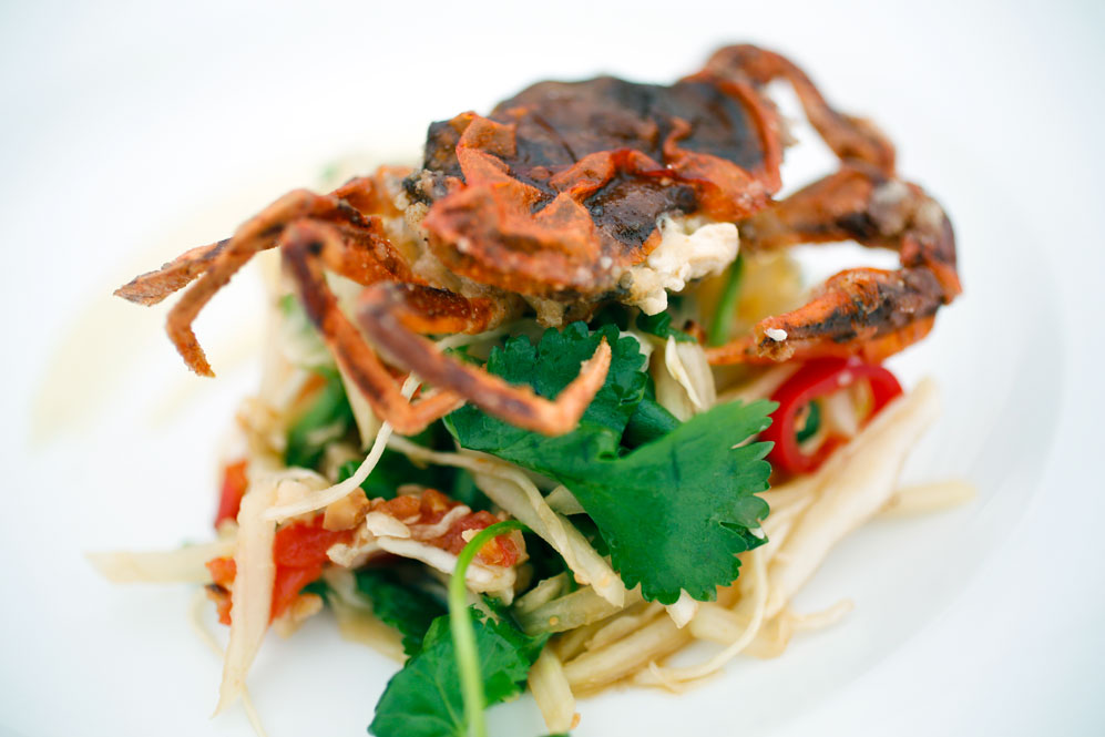 Thai Soft-shelled Crab starter wedding supplier wedding planner wedding planning cambridgeshire east anglia london cambridge