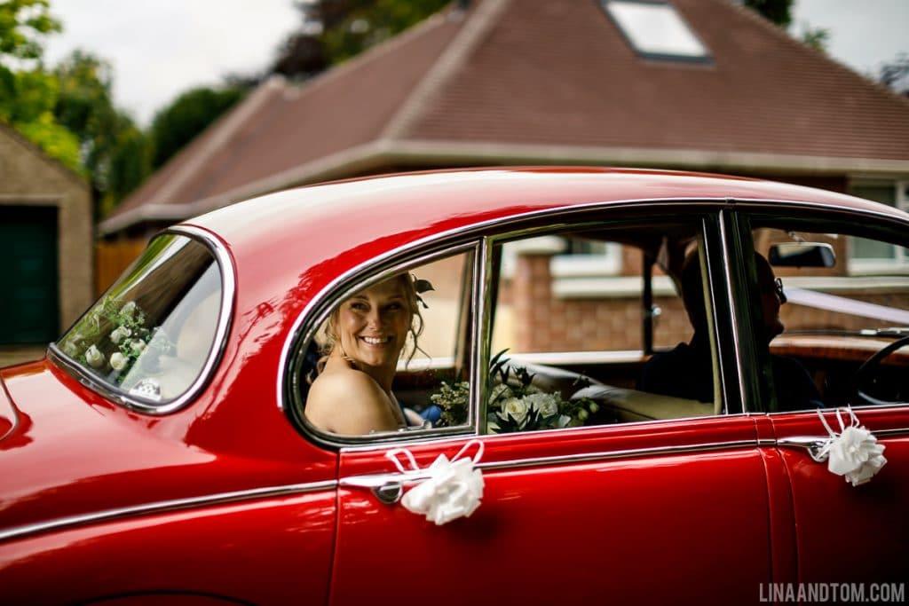 cambridge wedding car