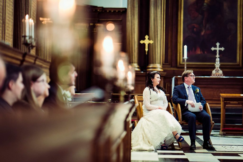Trinity college chapel Cambridge wedding planner