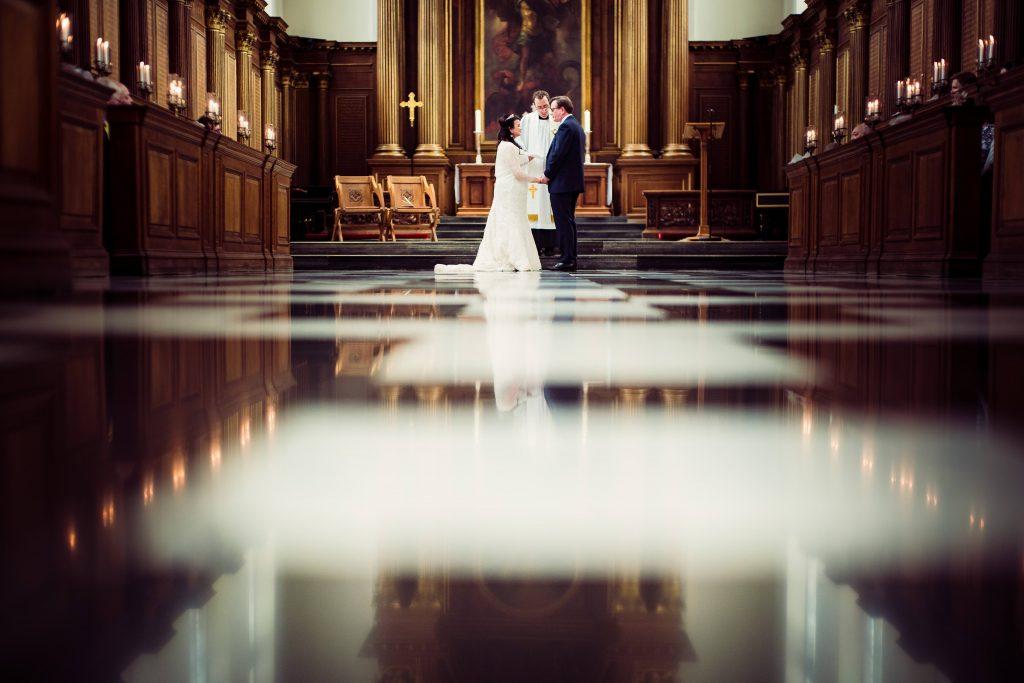 church chapel wedding ceremony