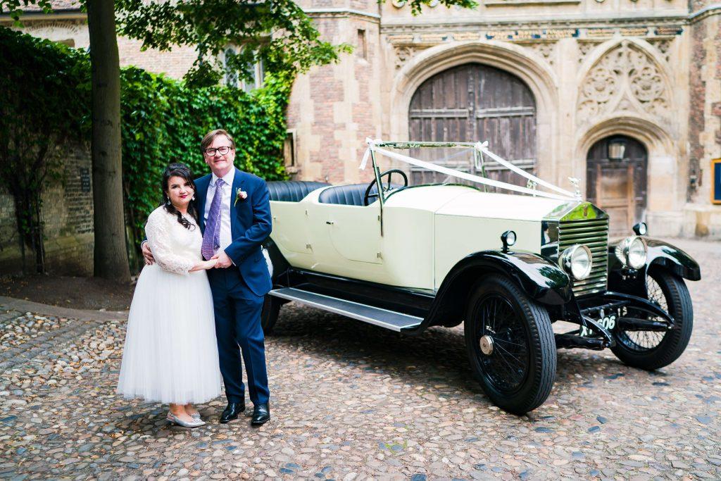 rolls royce wedding car cambridge