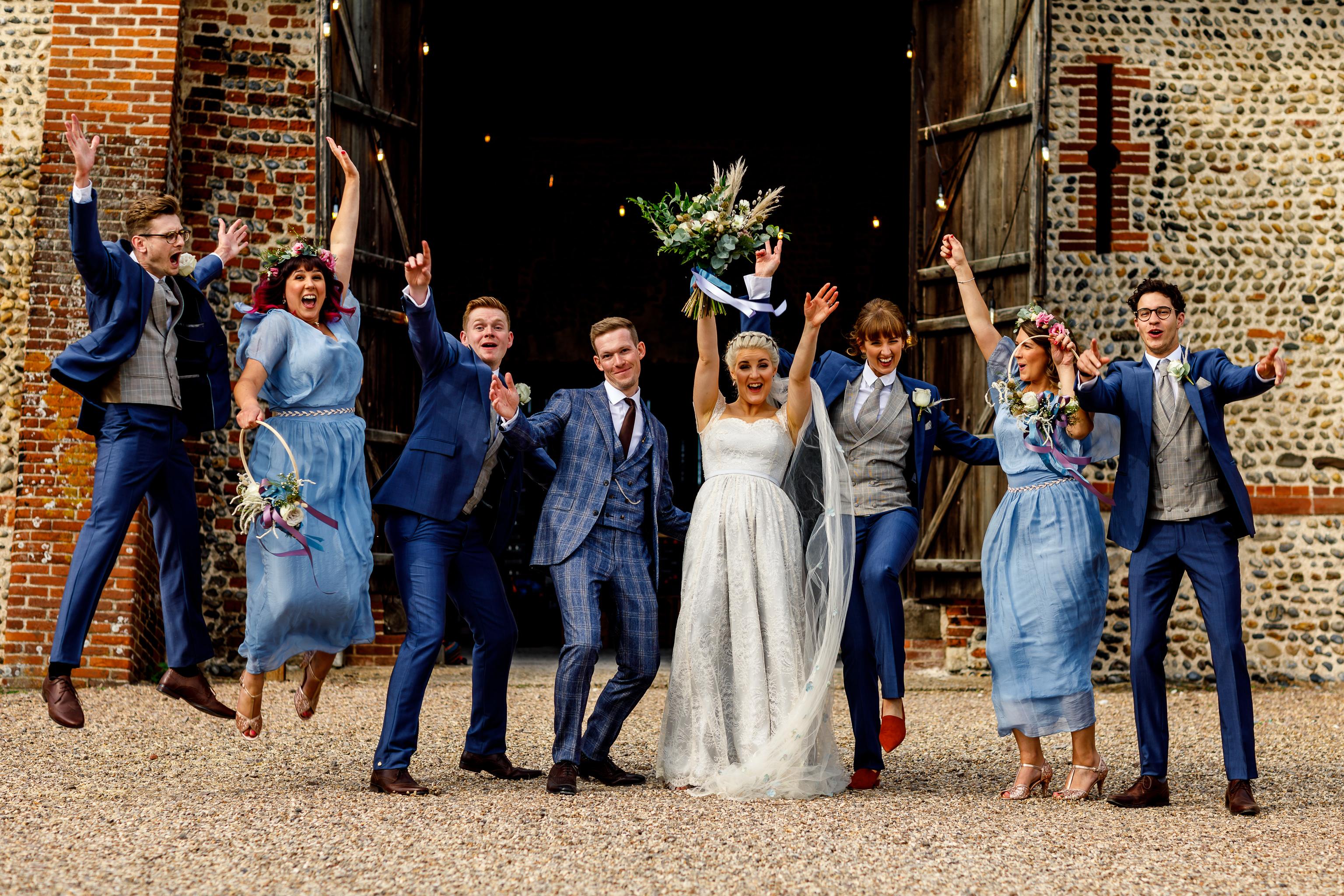 norfolk barn wedding