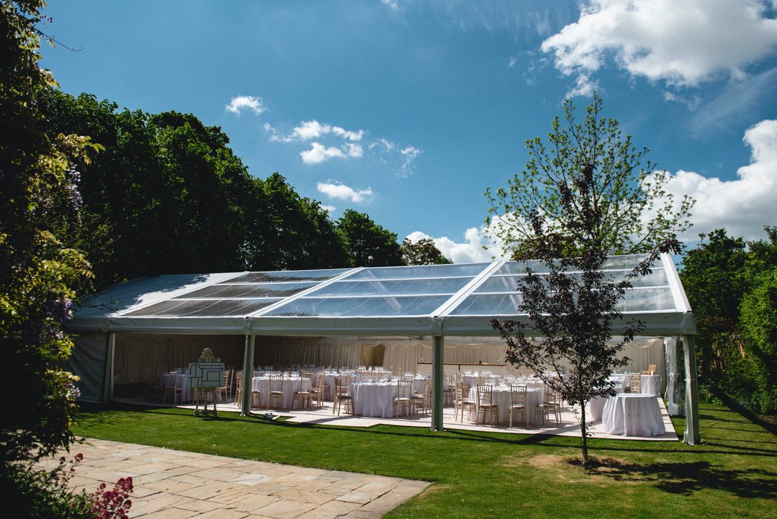 clearspan marquee wedding planner