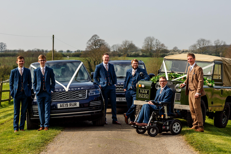 Range Rover Wedding CarUK wedding planner London cambridge oxford randfweddings