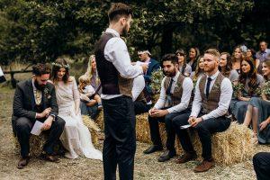 Eco wedding at Clophill Centre