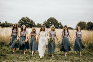 Bridesmaids at Clophill Centre