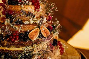 Eco wedding cake
