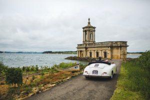 Porsche Wedding Car