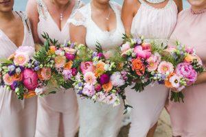 Summer Bridesmaids Flowers
