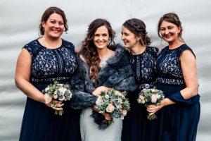 Bridesmaids at Shuttleworth