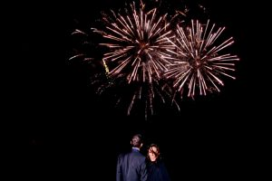 Fireworks at Shuttleworth