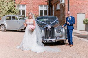 Cambridge Bride and Groom