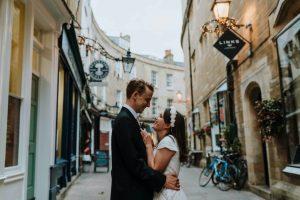 cambridge wedding couple